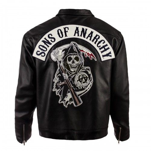 Sons of Anarchy Speedster Leather Jacket - http://www.netjunkyard.com/sons-anarchy-speedster-leather-jacket/