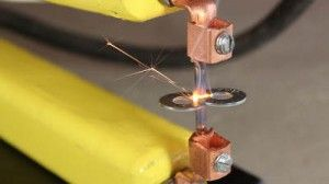 Learn how to make a spot welder - for cheap with this tutorial. Useful for spot welding and to buy one would probably be upwards of 200 dollars but you can make your own for way less.