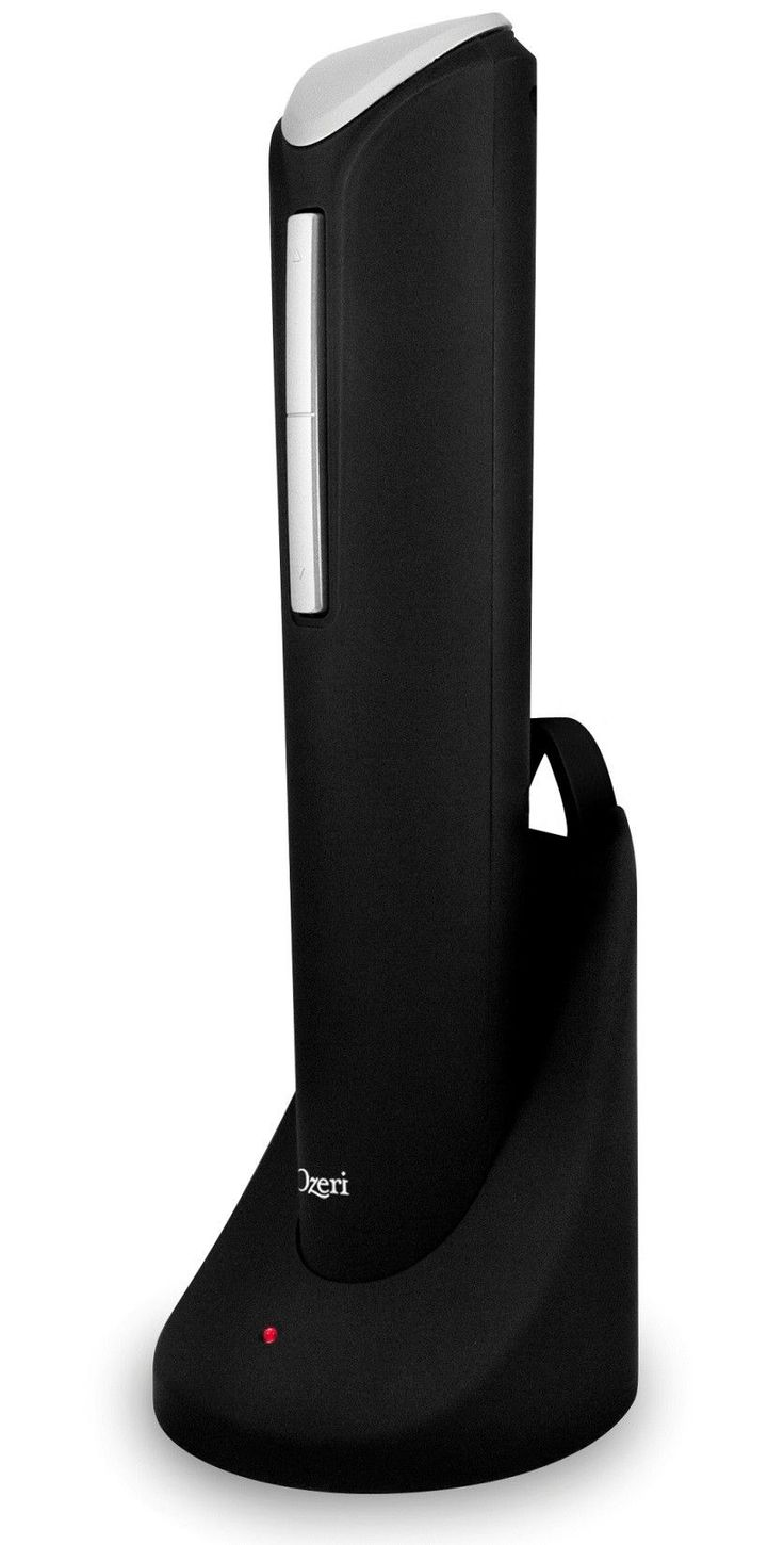 Pro Electric Wine Bottle Opener with Wine Pourer & Stopper