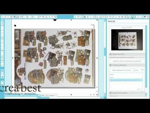 ▶ Silhouette Vrijdag: PixScan Mat - YouTube Creabest