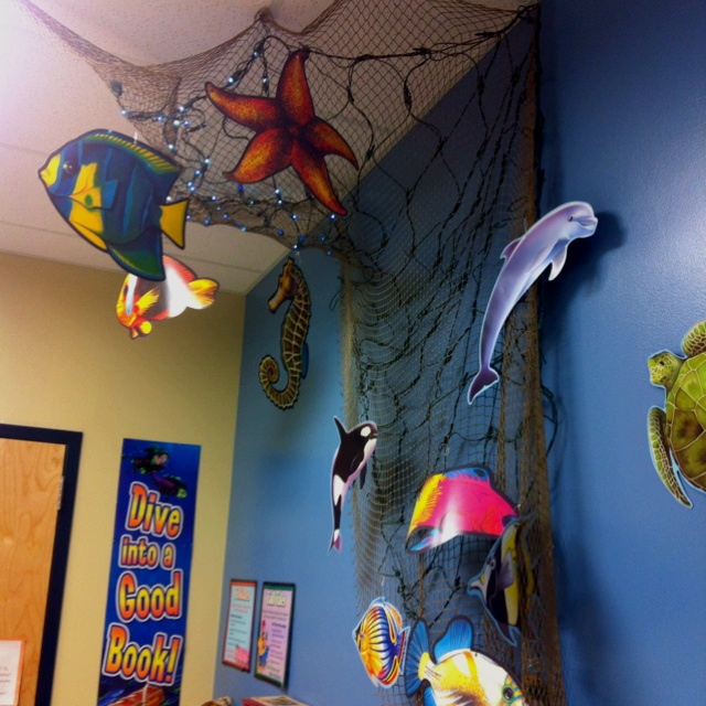 """Class room """"under the sea"""" decorations"""