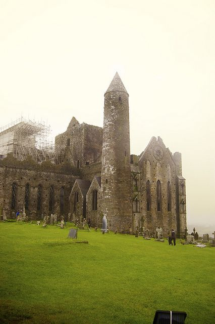 Rock of Cashel - Brian Boru home in the 10th Century, the place he was crowned High King in 977 AD.