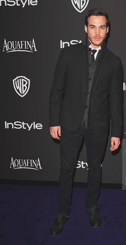 Chris Wood attends the 2015 InStyle And Warner Bros. 72nd Annual Golden Globe Awards Post-Party