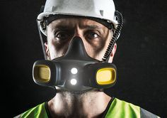 RSX´15 - The worlds first respiratory mask design for standard safety helmets - by Andreas enebrand / Core77 Design Awards