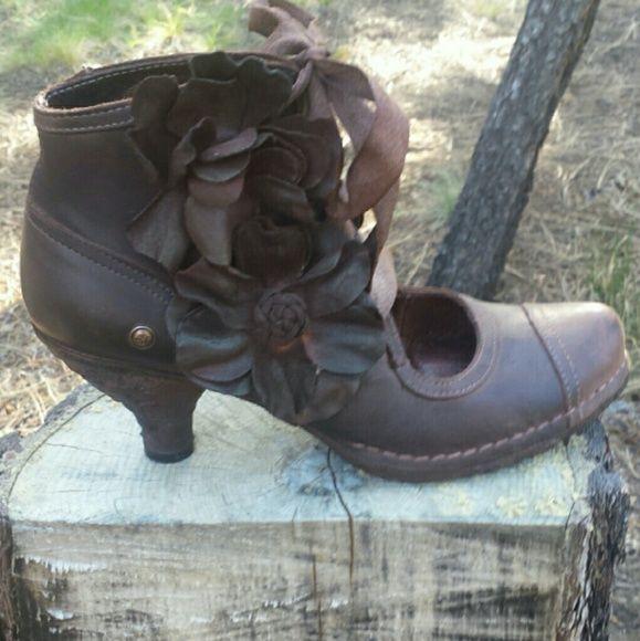 Neosen burgandy/brown European shoes