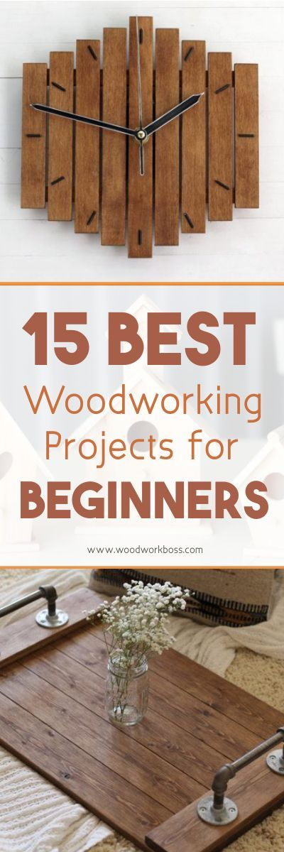 31 Best Woodworking Projects For Beginners | Beginner ...