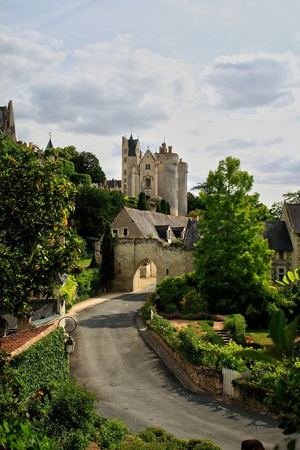 Château de Montreuil Bellay  situé sur la commune deMontreuil-Bellay , dans le département du Maine-et-Loire et la région Pays de la Loire., France.