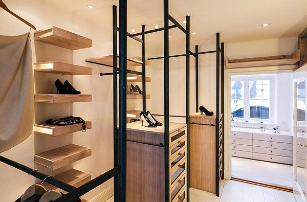 modern Scandinavian apartment. All shoes deserve this space!