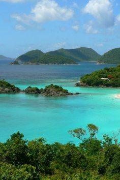 Virgin Islands National Park, a breathtaking paradise :)