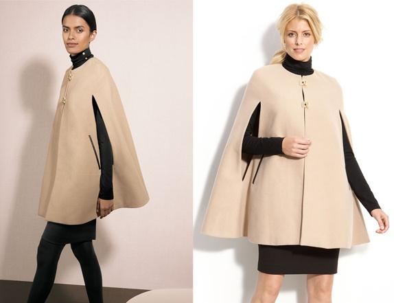Calvin Klein Camel Cape Love it!