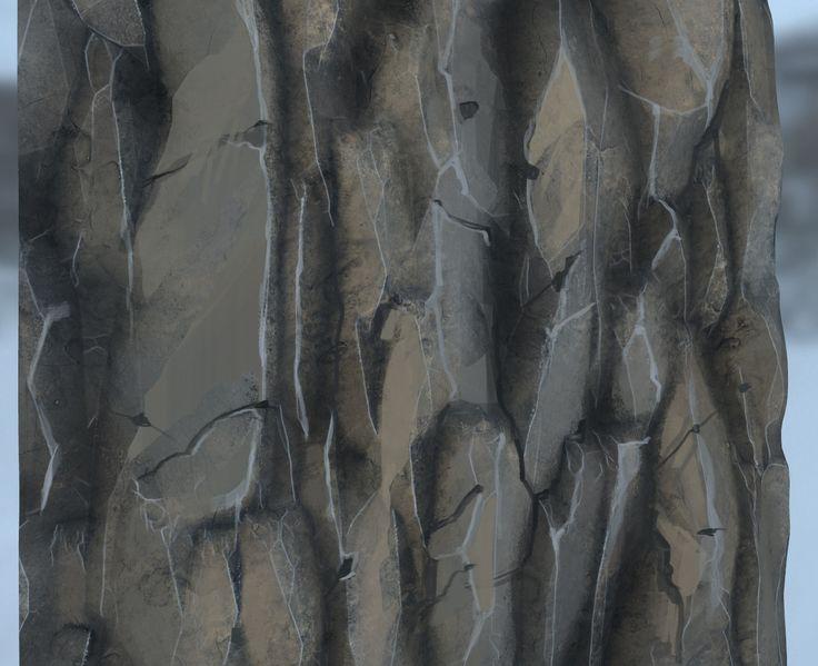ArtStation - +Stylized Rock texture, Remo sande
