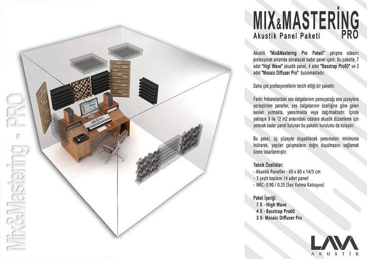 Mix & Mastering Pro Akustik Panel Paketi www.muzikenstrumani.com #lavaakustik #lava #akustik #acoustic #acustic #panel #music