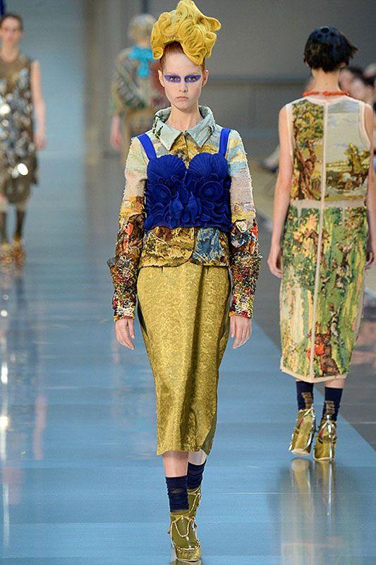 Something Out of Nothing: Maison Margiela Artisanal Fall 2015 | Hint Fashion Magazine
