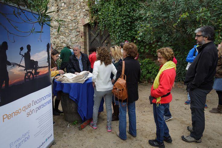 Cerca de 60 clientes de Triodos Bank acudieron al Encuentro con valores de Triodos Bank en Girona (17/10/2015).