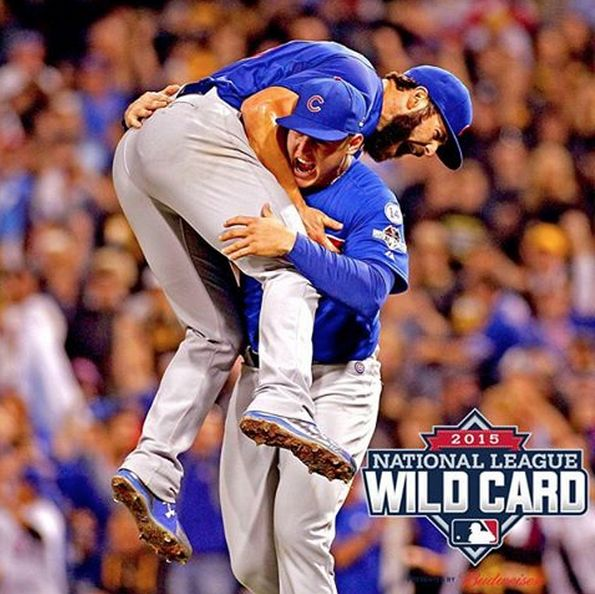 Happy Cubs! On to game 1 of the NLDS!