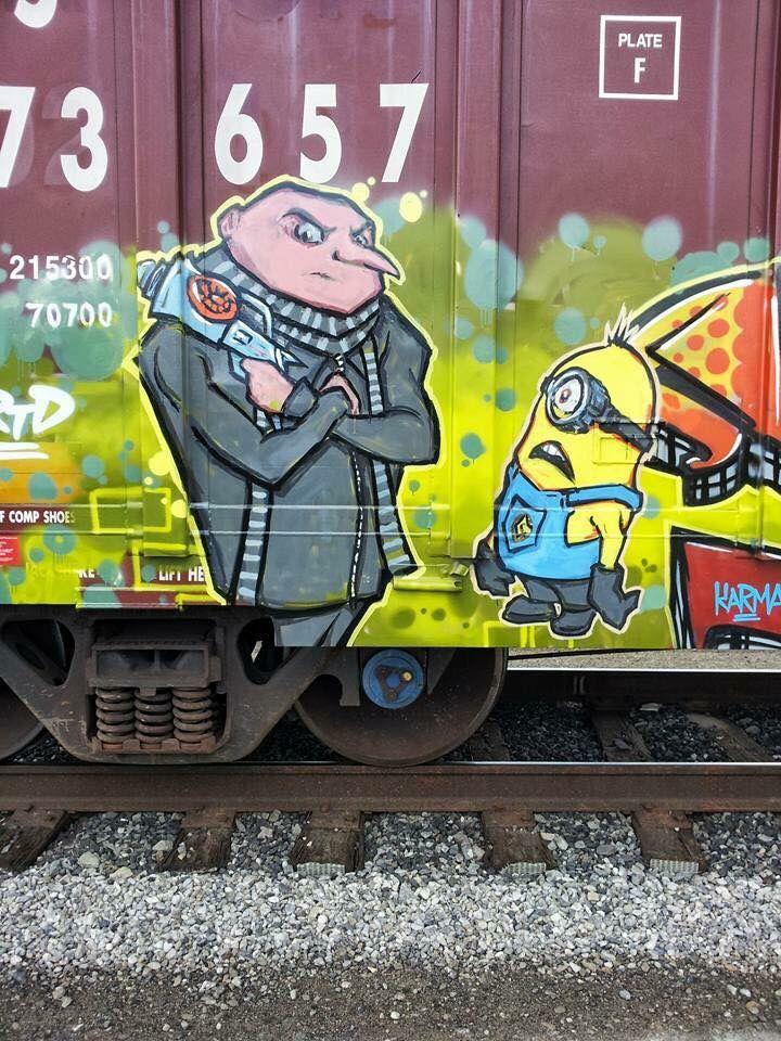 128 Best Rail Car Graffiti Images On Pinterest