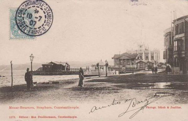 1900'lu yılların başında Sarıyer İskelesi #birzamanlar #istanlook #nostalji