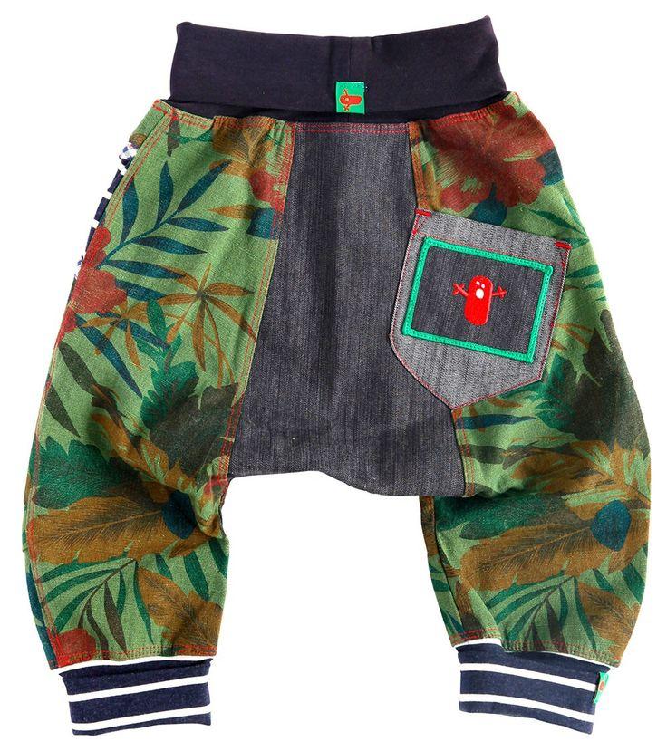 Tarzan Harem Pant, Oishi-m Clothing for kids, Spring 2015, www.oishi-m.com