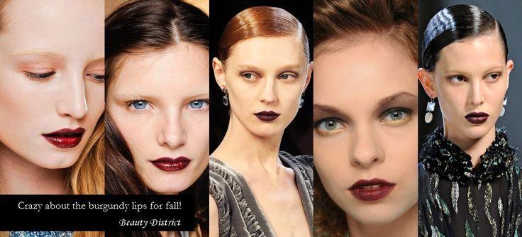 Buzele BURGUNDY. #makeup #makeupfall #beauty #beautydistrict