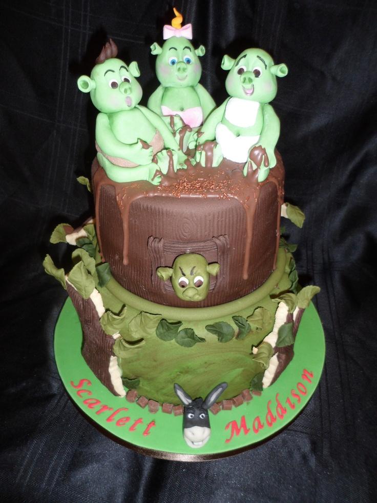 208 Best Dreamworks Cake Images On Pinterest Fondant