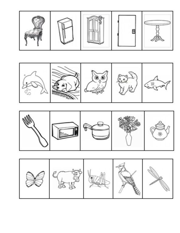 """Детский психолог Алена Решетова: """"Найди две лишние картинки"""". Познавательное развитие дошкольников. СКАЧАЙ И ИГРАЙ!"""