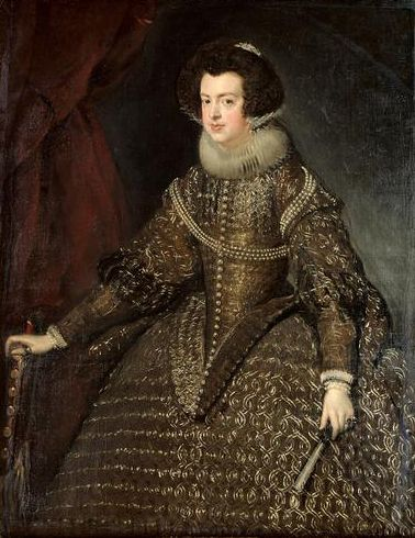 Diego Velázquez main job was to paint the royal family and royal people.