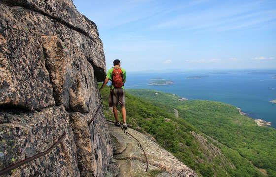 Precipice Trail - Acadia National Park