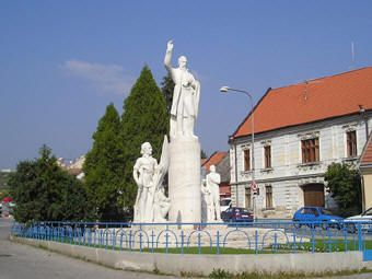 Modra, Slovakia- The first town I lived in, in Slovakia- famous for wine and ceramics