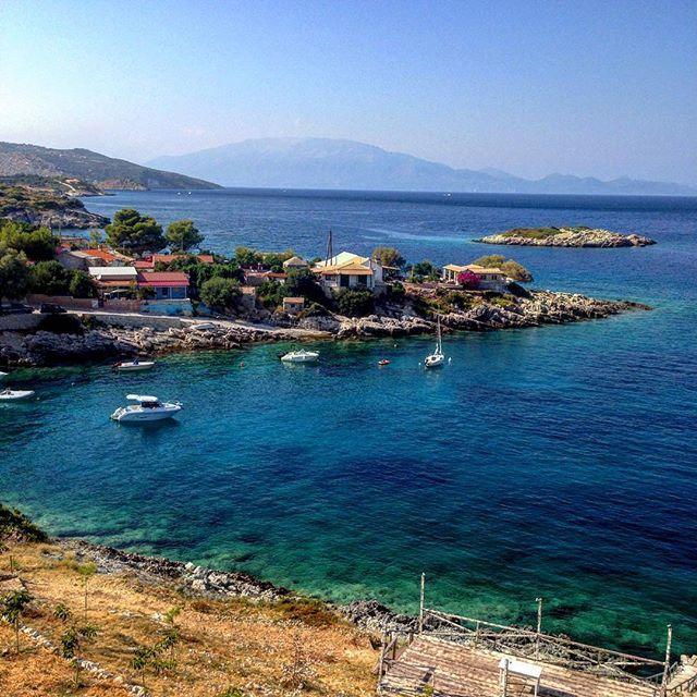 """Makris Gialos"" village in #Zante Photo credits:@couvanos"