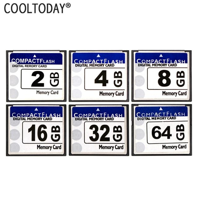 Cooltoday Cf Card Real Storage 2gb 4gb 8gb 16gb 32gb 64gb Cf Card Pass H2testw Memory Card Compact Flash Card Class10 Compact Flash Memory Card Camera Reviews