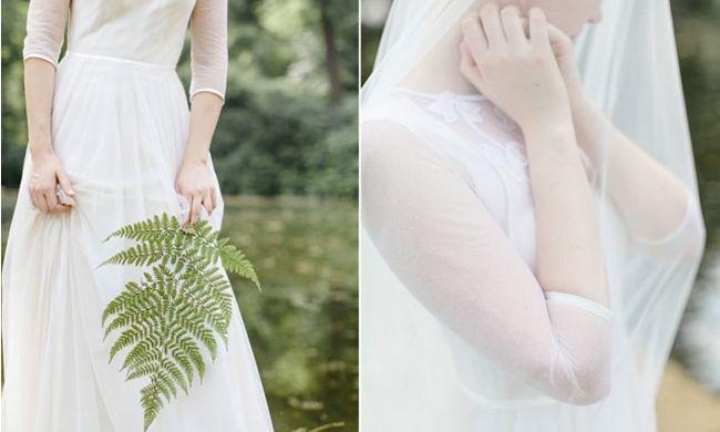 Ga je binnenkort op pad voor een trouwjurk? Check dan snel deze lijst met trouwjurk stoffen. Naar welke stof gaat jouw voorkeur? // Foto: Suegraphy // Girls of honour