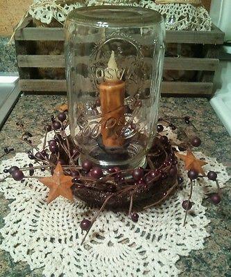 Easy diy mason jar lamp