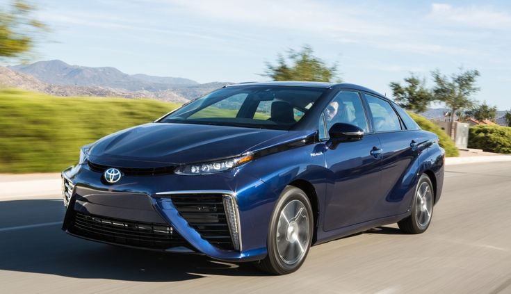 Toyota's first hydrogen car hasn't even gone on sale yet here in the US, and already we're hearing rumors about a follow-up vehicle. According to the Aus