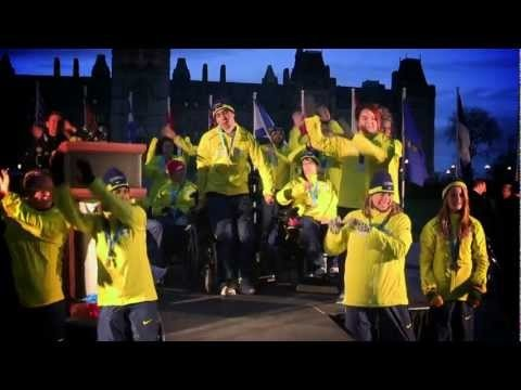 Rick Hansen Medal-Bearer Dance! This was so much fun :)