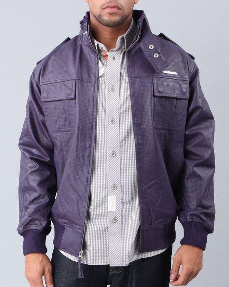 Shops and Deals: Live Mechanics Men Victor's Leather Jacket - Outerwear,$115.29