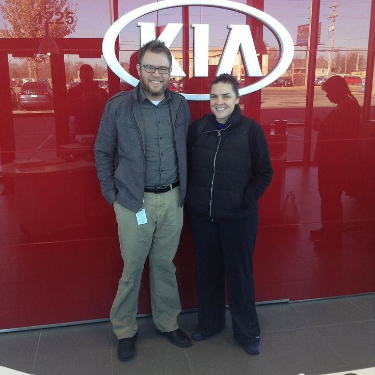 Mary and Ryan made the short drive from Overland Park and got a great deal on a 2012 Hyundai Santa Fe from Ken and Lawrence Kia! Thanks Mary and Ryan!