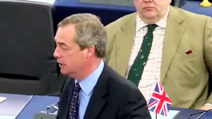Nigel Farage MEP : Public Power Will Control Our Future NOT EU INTERESTS
