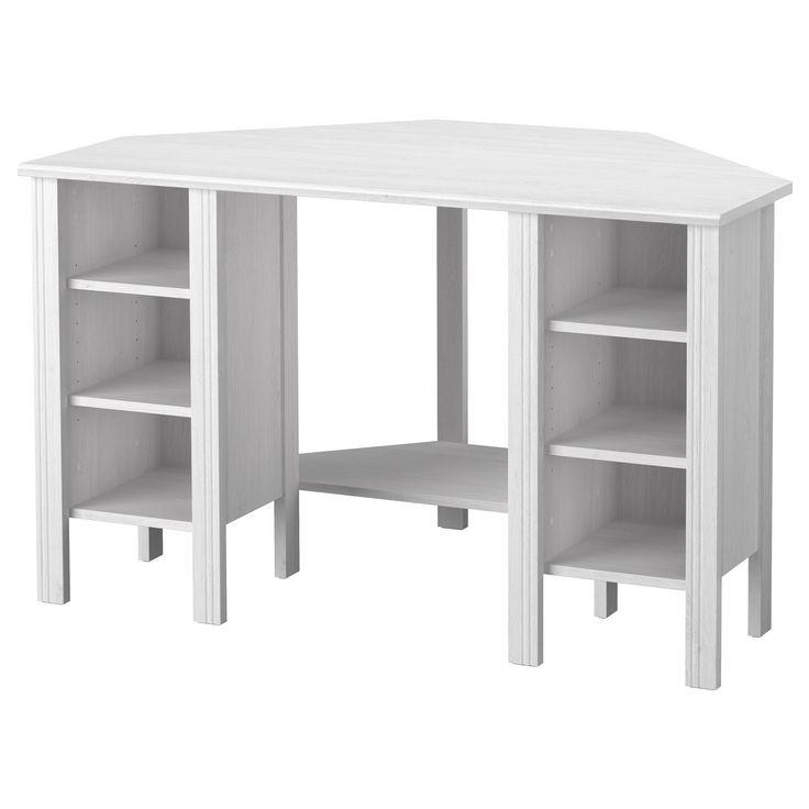 Ikea White Corner Desk - Western Living Room Set Check more at http://www.gameintown.com/ikea-white-corner-desk/