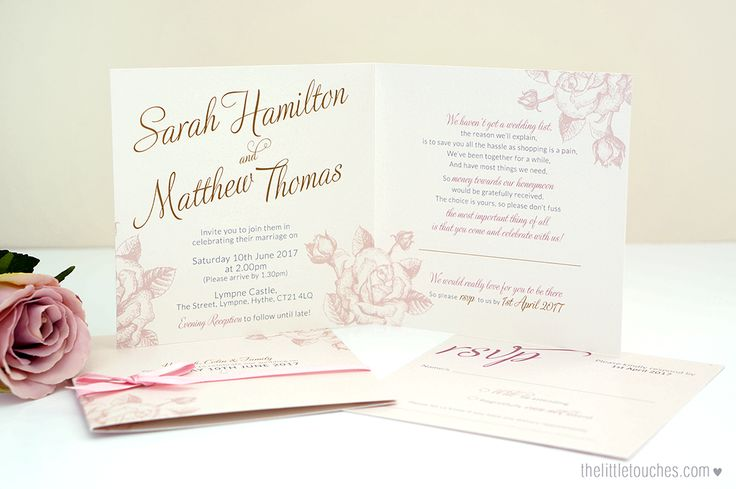 Ivory rose wedding invitations with ribbon, and pearls, printed onto a pearlescent ivory card -  https://thelittletouches.com/collections/wedding-invitations/products/ivory-rose-square-wedding-invitations