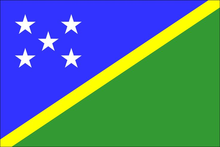 Solomon Islands flag.