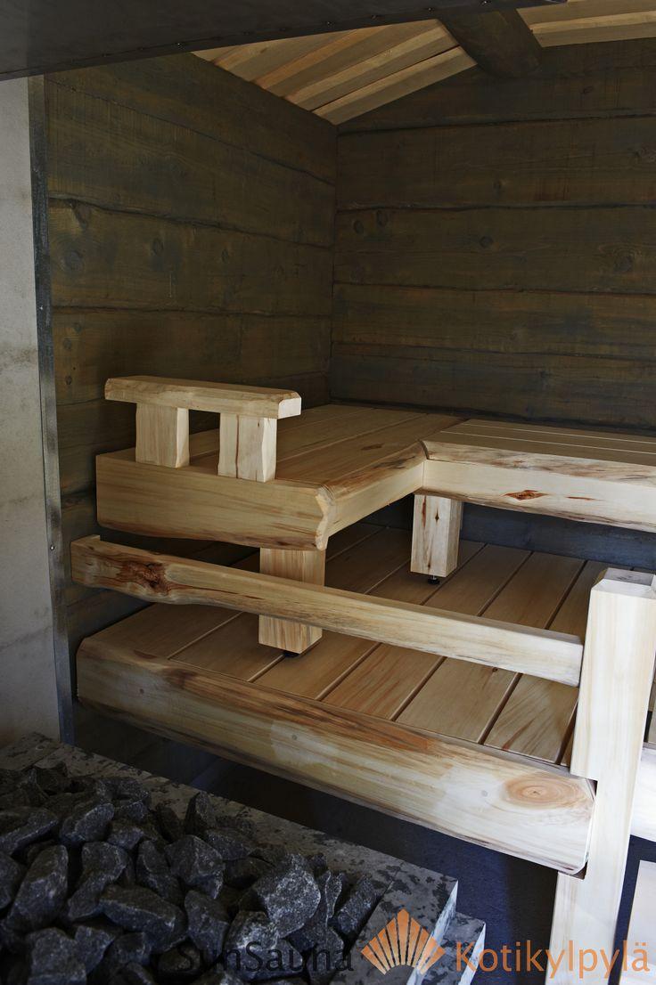 SunSauna, savusauna, käsintehty laude, smoke sauna, finnish handcrafted