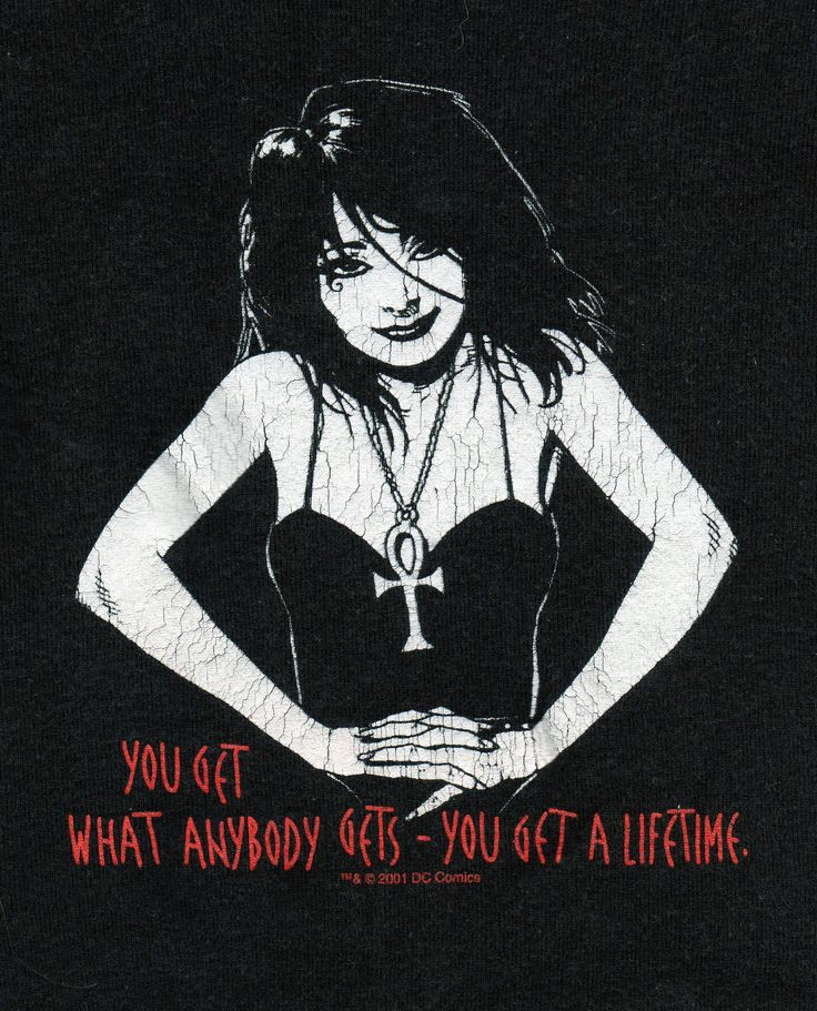 You get what anybody gets-you get a lifetime. Neil Gaiman from Death: The High Cost of Living