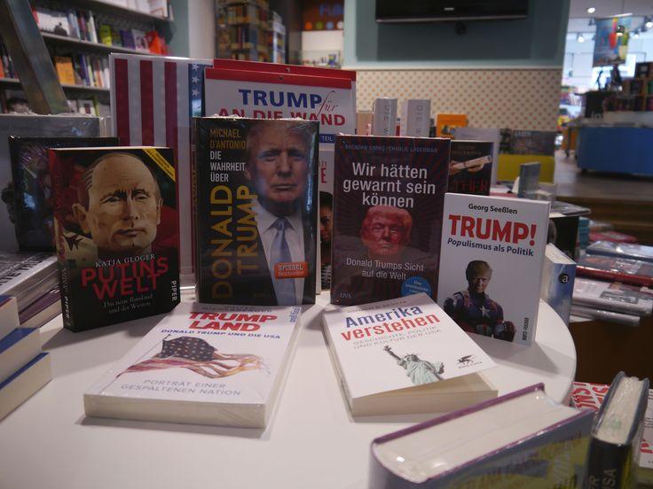 Donald J. Trump ist seit dem 20. Januar 2017 der 45. Präsident der Vereinigten Staaten von Amerika. Wer ist der neue Mann im Oval Office? Wie gelang es ihm an die Macht zu kommen? Diese Fragen beantworten Ihnen möglicherweise einige unserer Bücher in unserer Buchhandlung. Neugierig geworden? Dann schauen Sie doch einfach mal in einer unserer Filialen vorbei!... #DonaldTrump #USA #Präsident #Macht #WasIstPopulismus #Wahl'16 #WladimirPutin #FBI