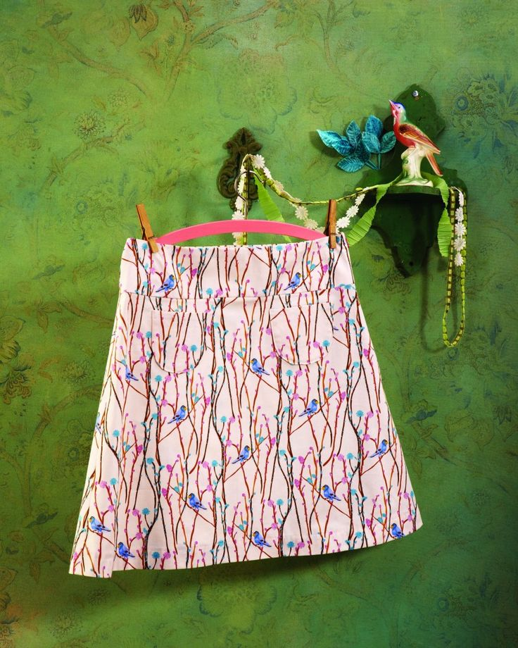 A Line Skirt Pattern Free Sewing Choice Image - origami instructions ...