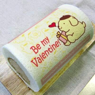 Decorated roll cake - Sanrio