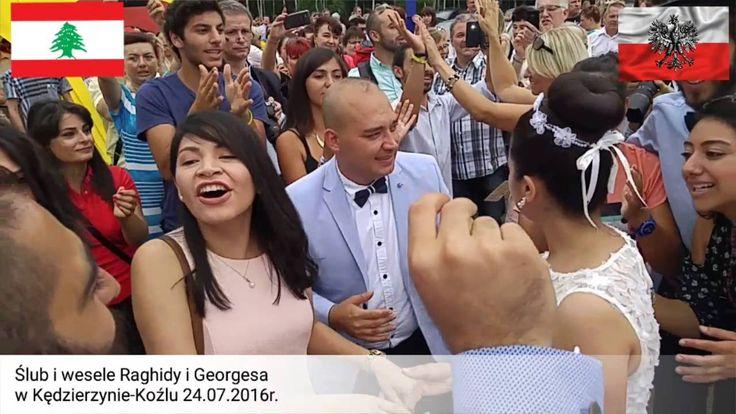 ŚDM 2016 Libański ślub i wesele Raghidy i Georgesa