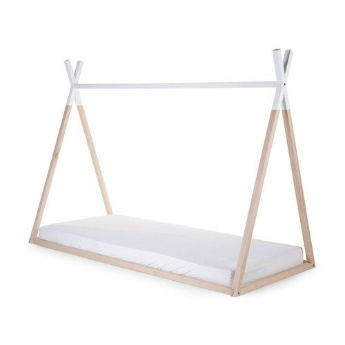 Harriet Bee Hailie Toddler Canopy Bed With Slats And Mattress In 2019 Products Toddler Canopy Bed Bed Frame Wooden Bed Frames