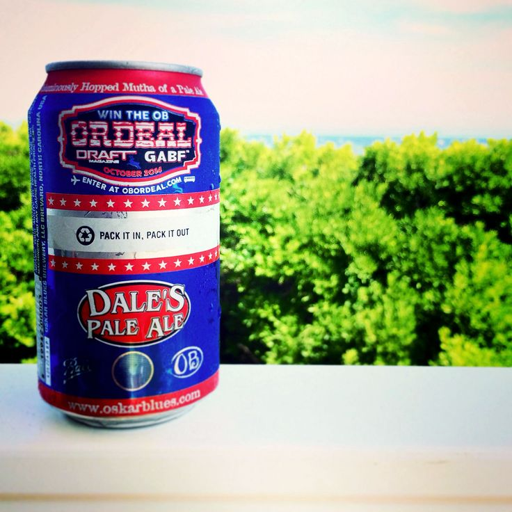 Dale's Pale Ale will always be one of my favorite summer beers.