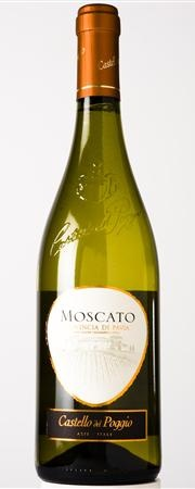Castello del Poggio Moscato. SO good. This is the kind they have at olive garden! What I had at my wedding...<3 it