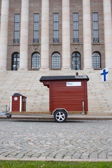 Sauna op wielen! #sauna